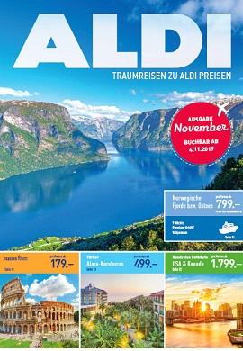 Aldi Nord Reisen November