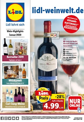 Lidl Wein-Highlights Januar
