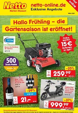 Netto Marken-Discount Online-Magazin März