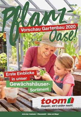 toom Baumarkt Gartenbau Prospekt